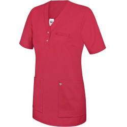 Tunique médicale Femme rose à enfiler - BP -