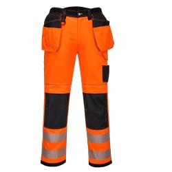 Pantalon de Travail Haute visibilité et Genouillères Taille 40