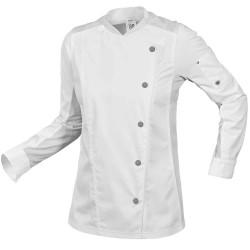 Veste de cuisine femme blanche BP