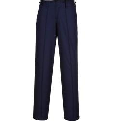 Pantalon de Travail Femme élastiqué marine