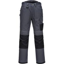 Pantalon de Travail gris avec Genouillères de protection