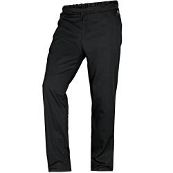 Pantalon médical noir élastiqué confortable