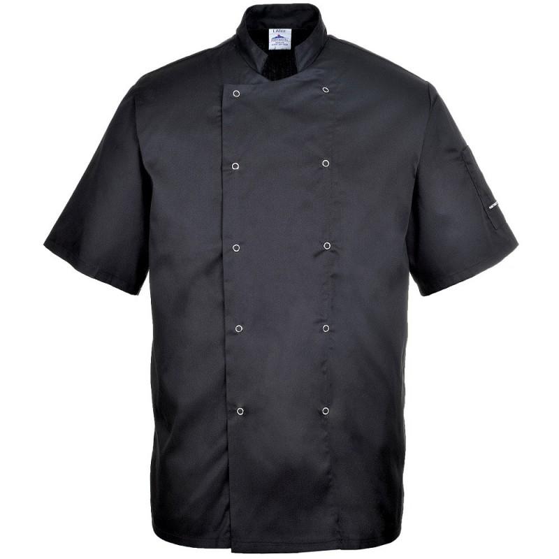 pack cuisine noir veste de cuisine noire pantalon de cuisine noir. Black Bedroom Furniture Sets. Home Design Ideas