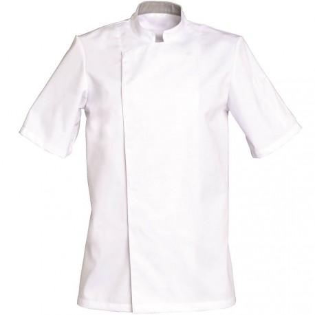 Veste de cuisine blanche manche courte COOKIE