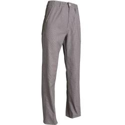 pantalon de cuisine coton pied de poule
