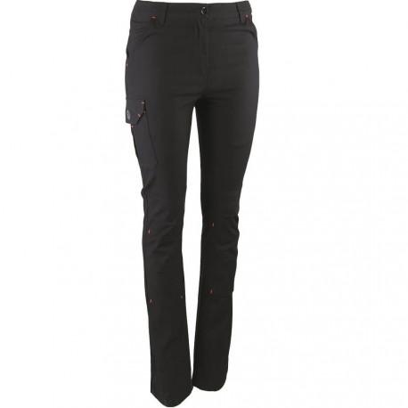 Pantalon de travail Femme noir Stretch