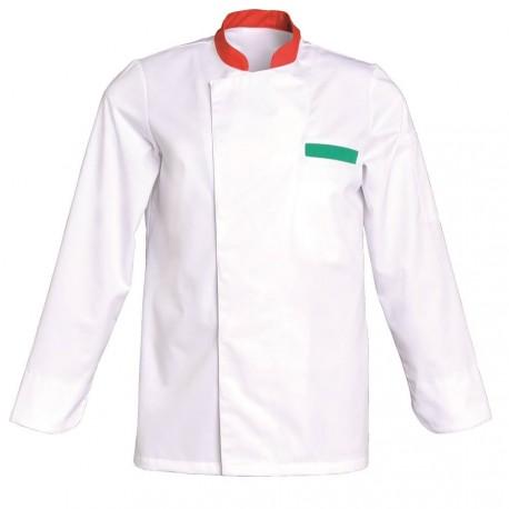 Veste pizzaiolo blanche