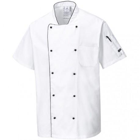 Veste de cuisine blanche respirante - COOLITE