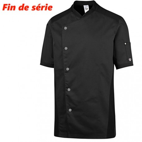 Veste de cuisine noire legere - BP