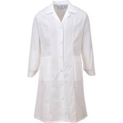 Blouse médicale femme blanche lw56