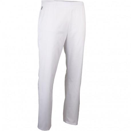 Pantalon medical blanc elastique LMA