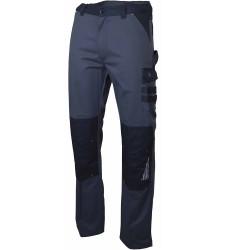 pantalon de travail gris poches genouillere sulfate