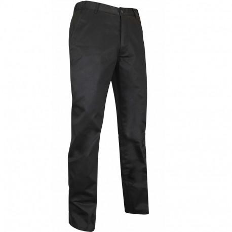 Pantalon de cuisine noir LMA