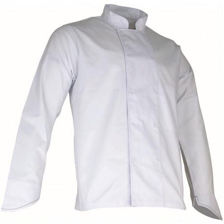 veste de cuisinier blanche manches longues LMA