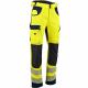 Pantalon de travail haute visibilité poches genouilleres-DEFENSE-