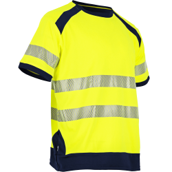 Tee shirt haute visibilite jaune respirant LMA