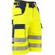 Bermuda de travail jaune Haute visibilté-LMA-
