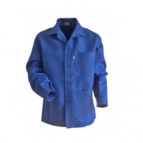 veste de travail coton bleue