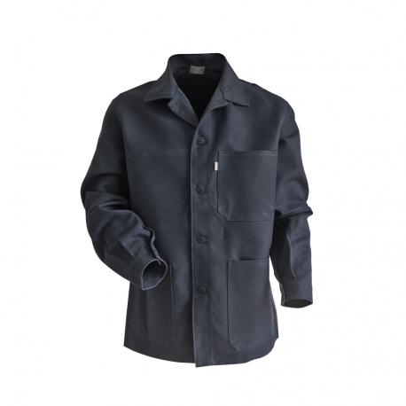 veste de travail coton grise