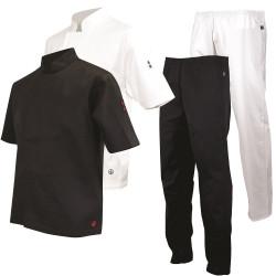 vetement apprenti cuisinier veste de cuisine pantalon cuisinier