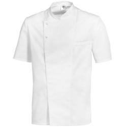 Veste de cuisine manches courtes blanche - BP
