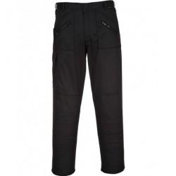 Pantalon de Travail noir poches genoux ACTION