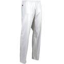 pantalon de travail elastique blanc