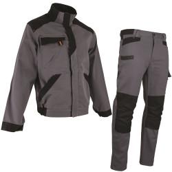 pantalon de travail coton gris blouson de travail coton gris