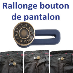 bouton rallonge pantalon sans coutures
