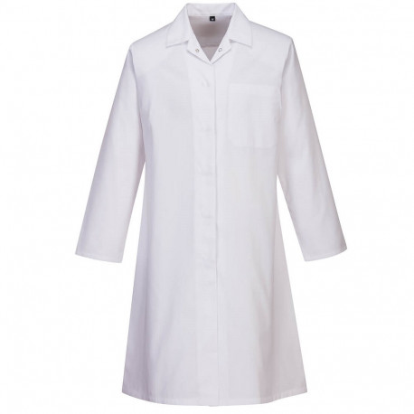 Blouse agro alimentaire femme blanche