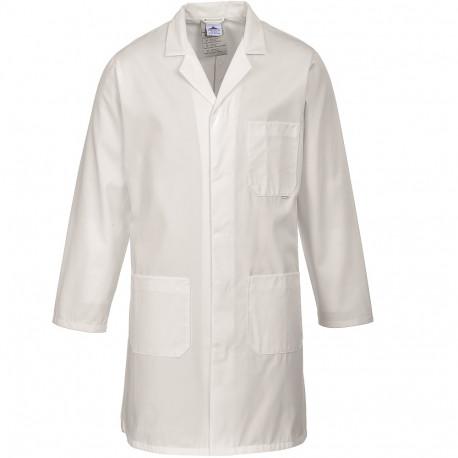 blouse de travail blanche