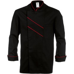 Veste de cuisine noire - GRAND CHEF - BP