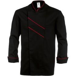 Veste de cuisine noire GRAND CHEF