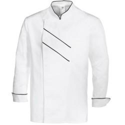 Veste de cuisine manches longues blanche GRAND CHEF