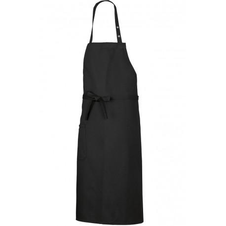 Tablier de cuisine bavette noir BP