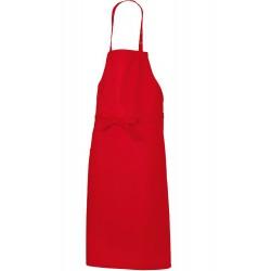 Tablier cuisine bavette rouge