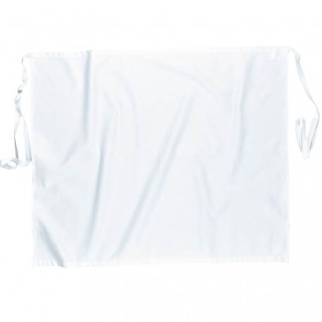 Tablier de cuisine blanc long