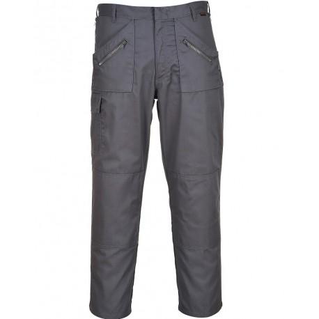 Pantalon de Travail poches genoux ACTION gris