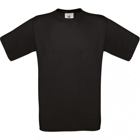 T-shirt de travail noir coton