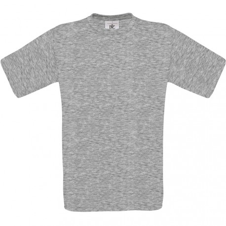 T-shirt de travail gris coton