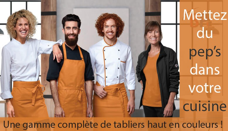 Tabliers de cuisine
